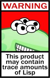 Lisp warning
